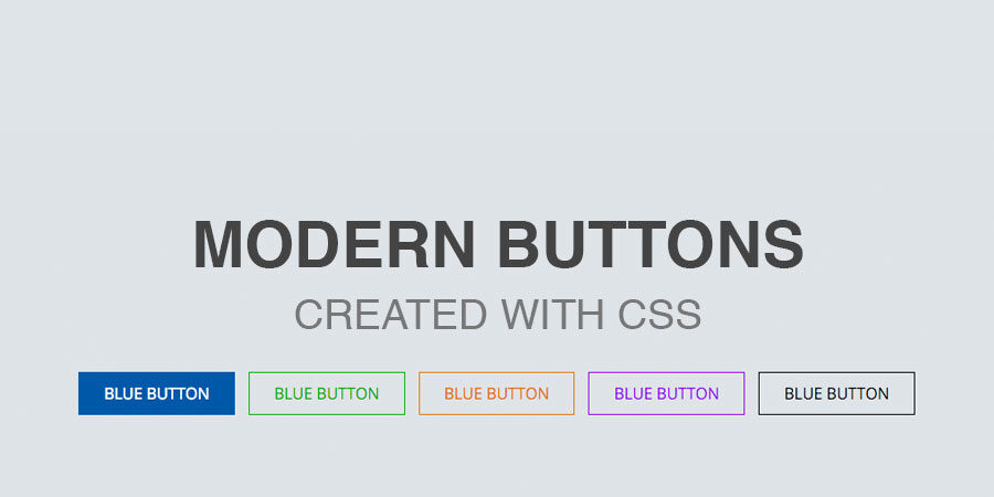 css outline buttons